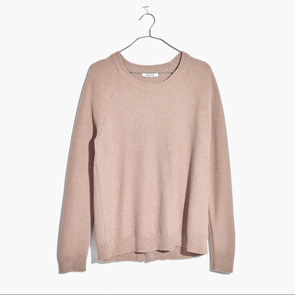 Madewell Province Crossback Pullover Sweater